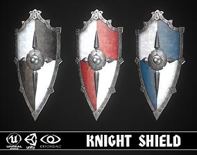3D model Knight Shield 08