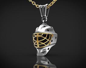 hockey helmet 3D print model