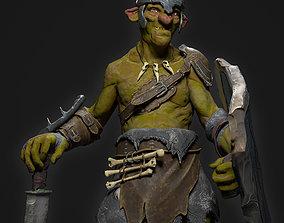 3D asset Goblin Fighter