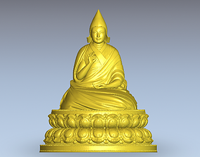 The Living Buddha of Tibet 3D print model