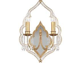 Sconce Lucia Tucci Tenerezza W5490-2 Gold 3D model