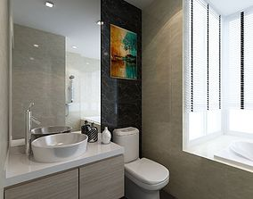 3D Master bathroom