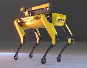 Spot Robot With Arm 3D model