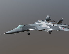 3D model The Sukhoi Su-57 LP