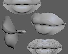 Lip Female-02 3D model
