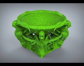 den of strangers ashtray 3D printable model
