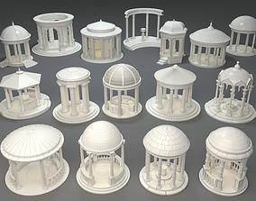 Rotundas - 16 pieces 3D