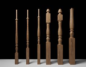 3D railing baluster