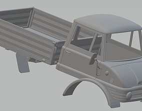 Mercedes Unimog 406 Printable Truck printable