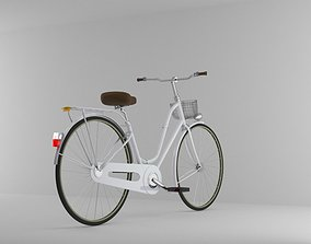3D asset Bicycle Model No One