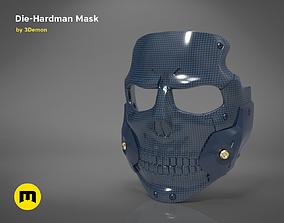 3D print model Die-Hardman mask - Death Stranding
