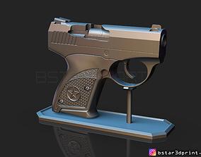 3D printable model Bond Bullpup 9 Gun