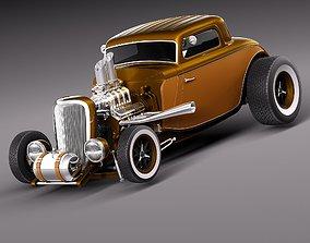 3D model 1933 HotRod custom