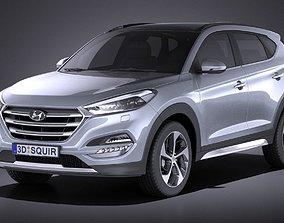 Hyundai Tucson EU-Version 2017 VRAY 3D