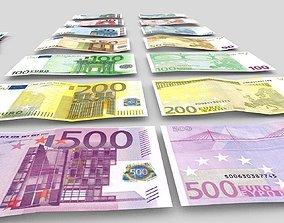 Euro-Bills 3D model