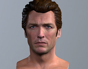 3d printable model Clint Eastwood Dirty Harry hollywood