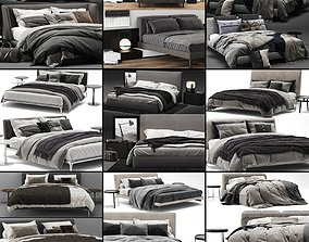 3D model Bed Collection 04 - 10 Items