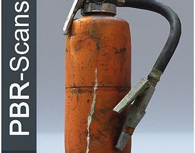 3D PBR Fire extinguisher