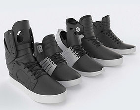 3D Supra Skytop Shoes Collection
