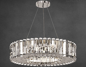 3D model Chandelier Kichler Crystal Skye 8