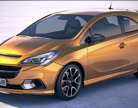 Opel Corsa GSI 2019 3D