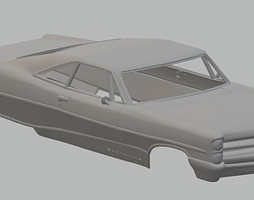 Bonneville 1966 Printable Body Car