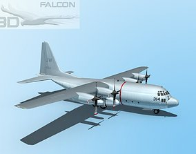 Falcon3D C-130 Hercules US Navy rigged