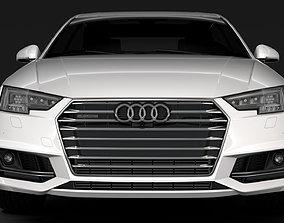 3D model Audi A4 L 45 TFSI quattro S line B9 2016