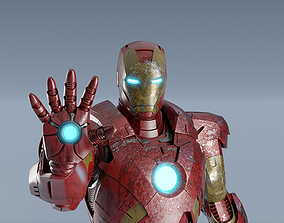 3D model Iron Man Mark VII