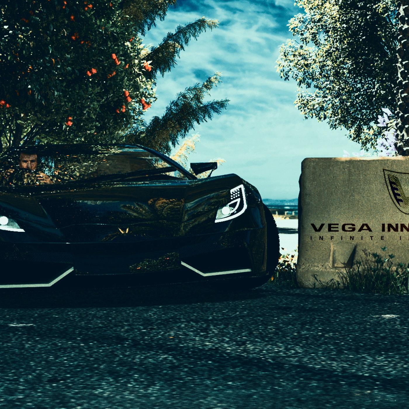 VEGA EVX super car