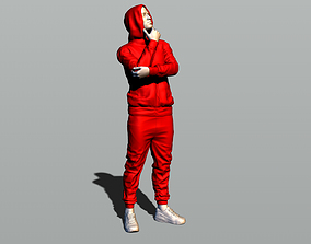 3D print model Man in a hoody