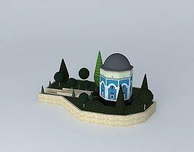 3D Green tomb