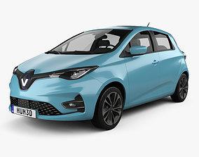 Renault Zoe 2020 3D model