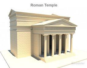 3D Roman Temple
