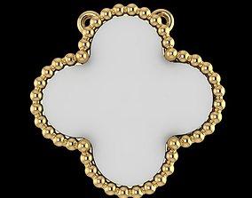 pendant fashion gold-ring 3D print model
