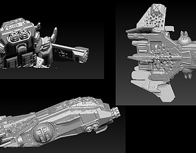 EPIC - ARMAGEDDON SET 4 CRUSHED 3D printable model