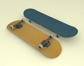 3D model realtime Skateboard