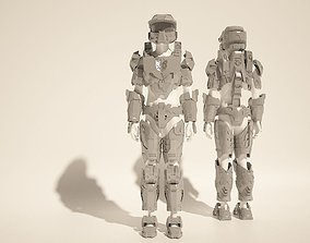 Custom Master Chief Halo4 cosplay style costume files 3