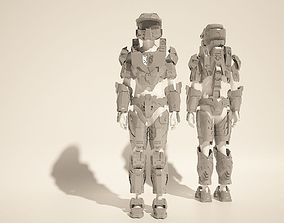 Custom Master Chief Halo4 cosplay style costume files 2