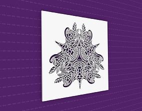 lasercut Mandala 3D model