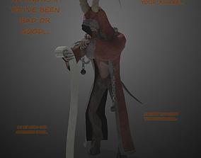 3D model Krampus