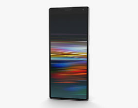3D Sony Xperia 10 Silver