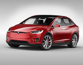 Tesla Model X 2017 3D