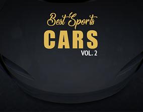 3D model Best Sports CARS vol 2