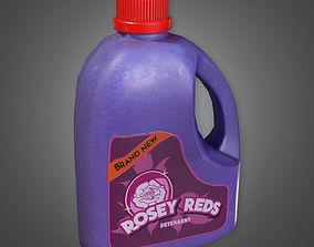 Detergent Bottle TLS - PBR Game Ready 3D asset