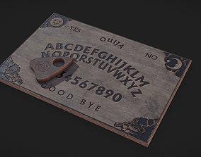 3D asset Spirit Board - Ouija