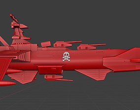 arcadia 78 captain harlock 3D printable model