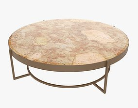 Coffee table round 3D model