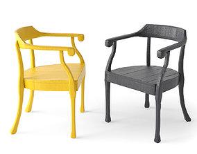 Muuto Raw Chair 3D
