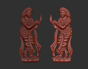 Indian Temple Jewelry 3D printable model